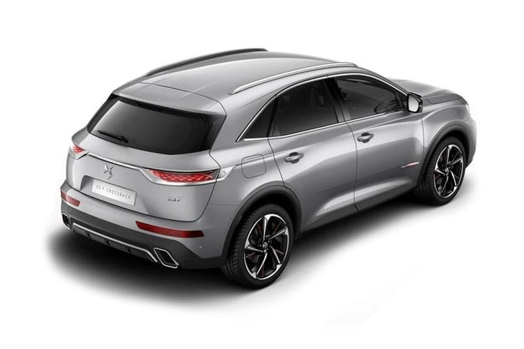 DS Automobiles DS 7 Crossback SUV 5Dr 1.6 E-TENSE PHEV 13.2kWh 225PS Prestige 5Dr EAT8 [Start Stop] back view