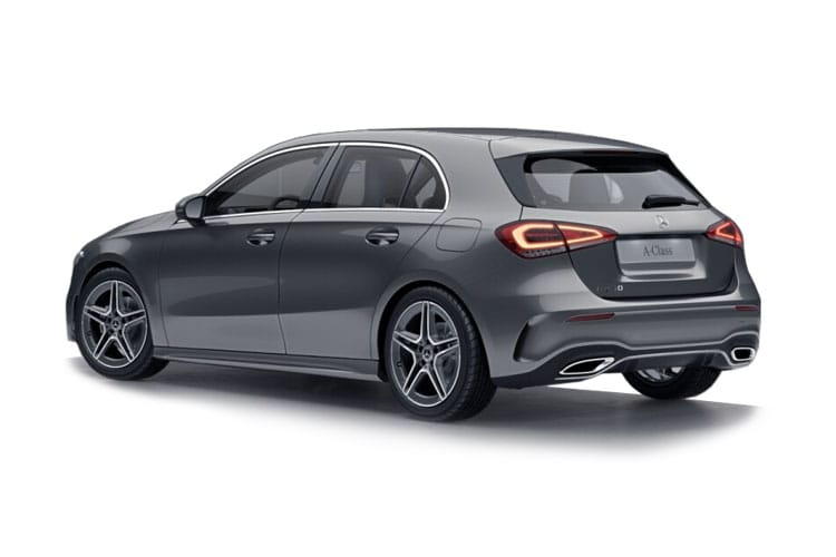Mercedes-Benz A Class AMG A35 Hatch 5Dr 4MATIC 2.0  306PS AMG Premium Plus 5Dr 7G-DCT [Start Stop] back view