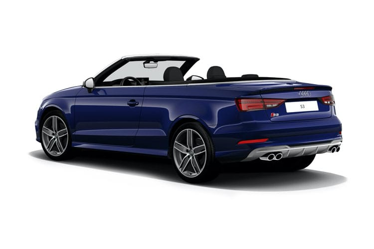 Audi A3 35 Cabriolet 2Dr 1.5 TFSI 150PS S line 2Dr S Tronic [Start Stop] back view