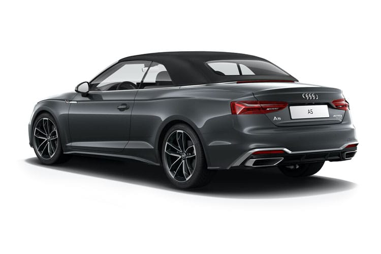 Audi A5 40 Cabriolet 2Dr 2.0 TFSI 190PS S line 2Dr S Tronic [Start Stop] back view