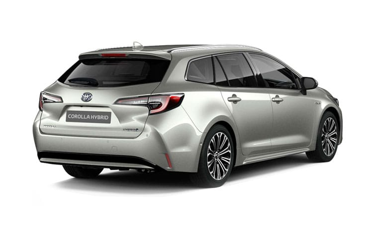 Toyota Corolla Touring Sports 2.0 VVT-h 184PS Design 5Dr CVT [Start Stop] [Pan Roof] back view