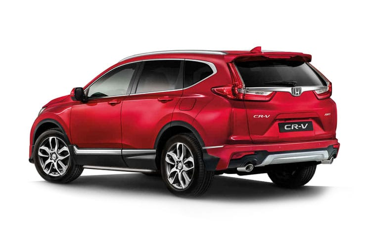 Honda CR-V SUV 2.0 h i-MMD 184PS SE 5Dr eCVT [Start Stop] back view