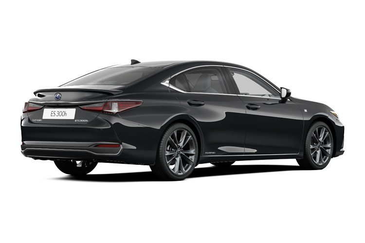 Lexus ES 300h Saloon 2.5 h 218PS F-Sport 4Dr E-CVT [Start Stop] [without Nav] back view