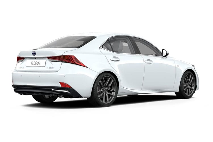 Lexus IS 300 Saloon 2.5 h 223PS IS 4Dr E-CVT [Start Stop] [Sport] back view