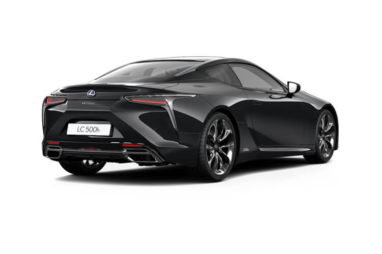 Lexus LC 500 Coupe 3.5 h V6 359PS Sport Plus 2Dr E-CVT [Start Stop] [Levinson] back view
