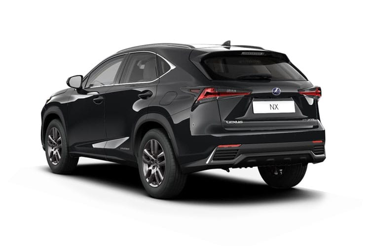 Lexus NX 300h SUV 4wd 2.5 h 197PS NX Premium Sport Edition 5Dr E-CVT [Start Stop] [Pan Roof] back view