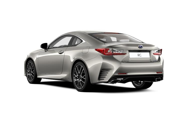 Lexus RC F Coupe 5.0 V8 463PS  2Dr Auto [Track SRoof Levinson] back view