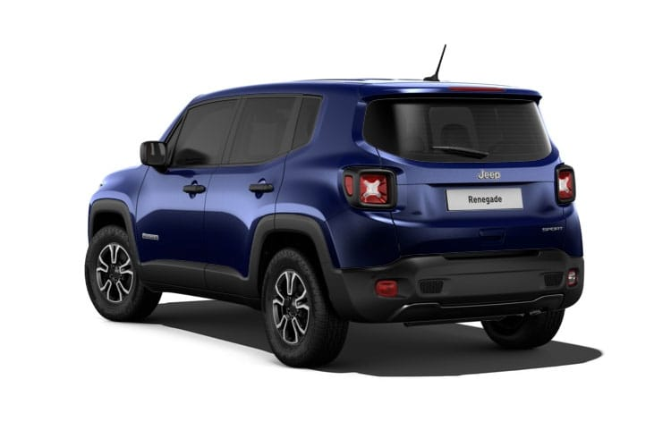 Jeep Renegade SUV 1.3 GSE T4 150PS S 5Dr DDCT [Start Stop] back view