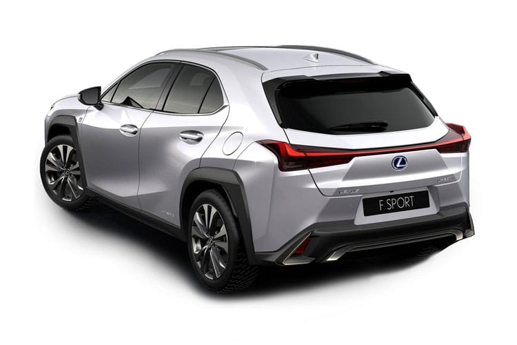 Lexus UX 250h SUV 2.0 h 184PS UX 5Dr E-CVT [Start Stop] [Prem 17in Alloy without Nav] back view