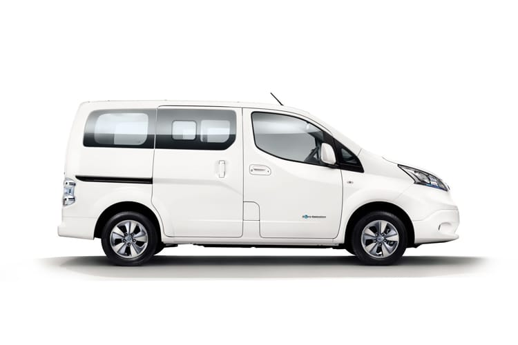 Nissan NV200 e-NV200 Combi M1 Elec 40kWh 80KW FWD 109PS Visia 50kW QC Combi Auto [7Seat] detail view
