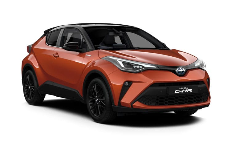 Toyota C-HR 5Dr 2.0 VVT-h 184PS Orange Edition 5Dr CVT [Start Stop] front view