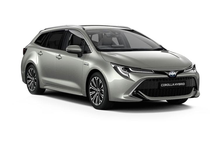 Toyota Corolla Touring Sports 2.0 VVT-h 184PS Design 5Dr CVT [Start Stop] [Pan Roof] front view