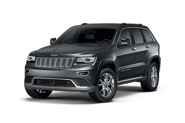 Jeep Grand Cherokee SUV 3.0 MultiJetII 250PS Overland 5Dr Auto [Start Stop] front view