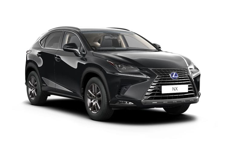 Lexus NX 300h SUV 4wd 2.5 h 197PS F-Sport 5Dr E-CVT [Start Stop] [Takumi SRoof] front view