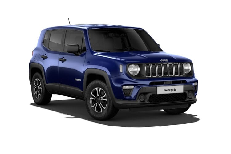 Jeep Renegade SUV 1.3 GSE T4 150PS S 5Dr DDCT [Start Stop] front view