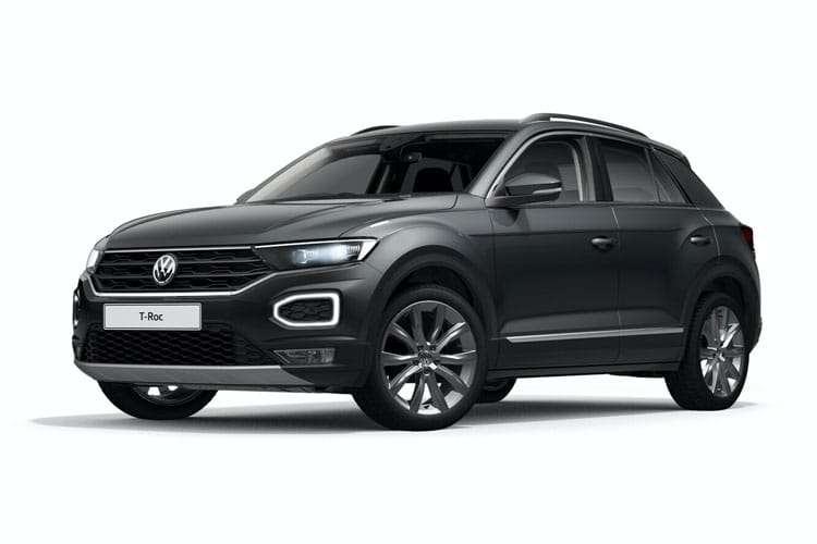 Volkswagen T-Roc SUV 2wd 2.0 TDI EVO 150PS Design 5Dr Manual [Start Stop] front view
