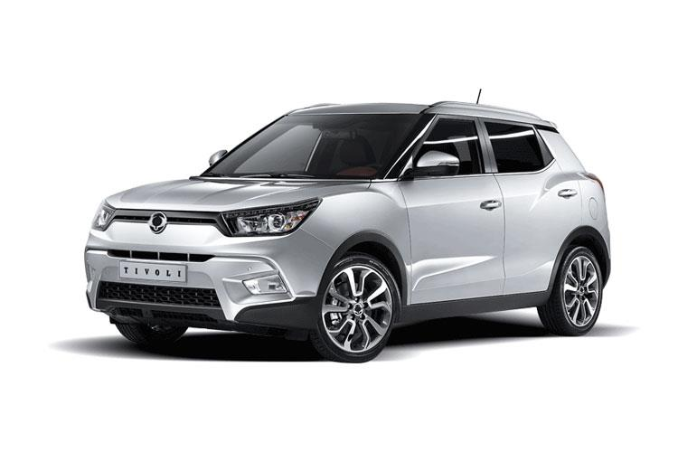 Ssangyong Tivoli SUV 5Dr 1.5 P 163PS Ultimate 5Dr Manual [Start Stop] front view