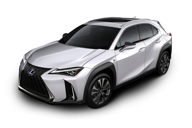 Lexus UX 250h SUV 2.0 h 184PS UX 5Dr E-CVT [Start Stop] [Prem 17in Alloy without Nav] front view