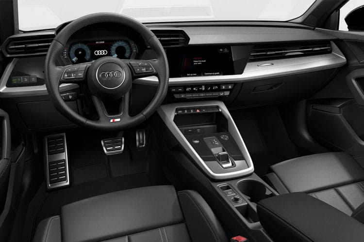 Audi A3 30 Sportback 5Dr 2.0 TDI 116PS Technik 5Dr S Tronic [Start Stop] inside view