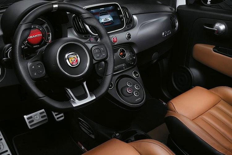 Abarth 595 Hatch 3Dr 1.4 T-Jet 180PS EsseEsse 70th 3Dr Manual inside view