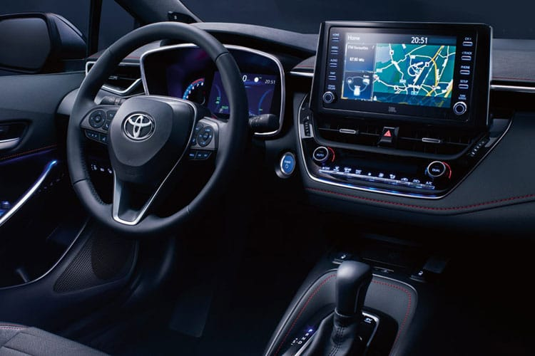 Toyota Corolla Touring Sports 2.0 VVT-h 184PS Design 5Dr CVT [Start Stop] [Pan Roof] inside view