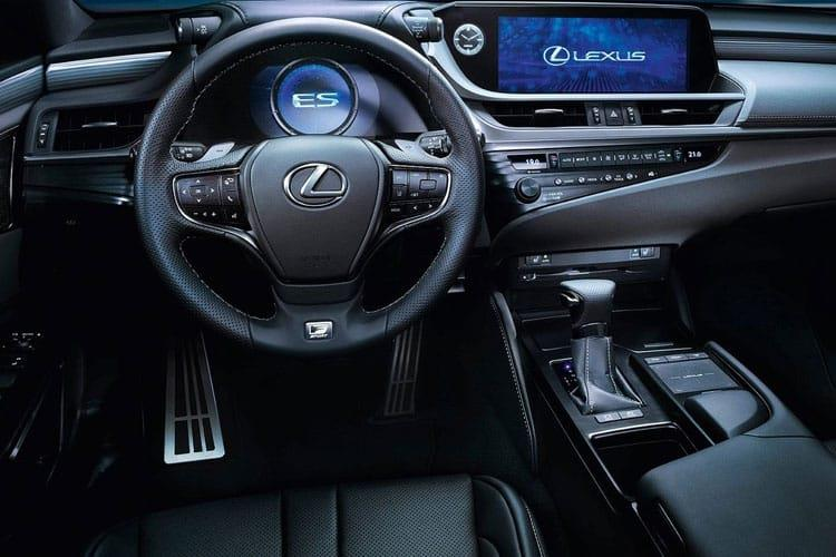 Lexus ES 300h Saloon 2.5 h 218PS F-Sport 4Dr E-CVT [Start Stop] [without Nav] inside view