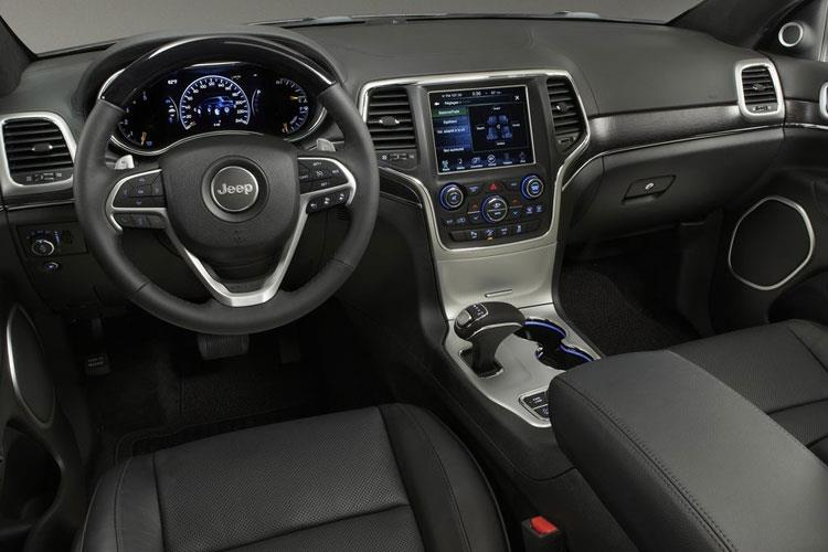 Jeep Grand Cherokee SUV 3.0 MultiJetII 250PS Overland 5Dr Auto [Start Stop] inside view