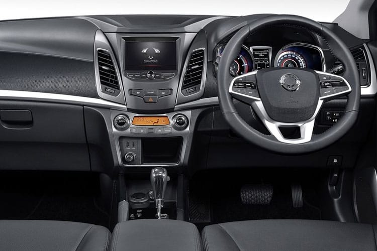 Ssangyong Korando SUV 5Dr 1.5  163PS Ultimate 5Dr Auto [Start Stop] inside view