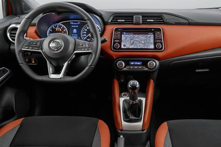 Nissan Micra Hatch 5Dr 1.0 IG-T 100PS Tekna 5Dr Manual [Start Stop] inside view