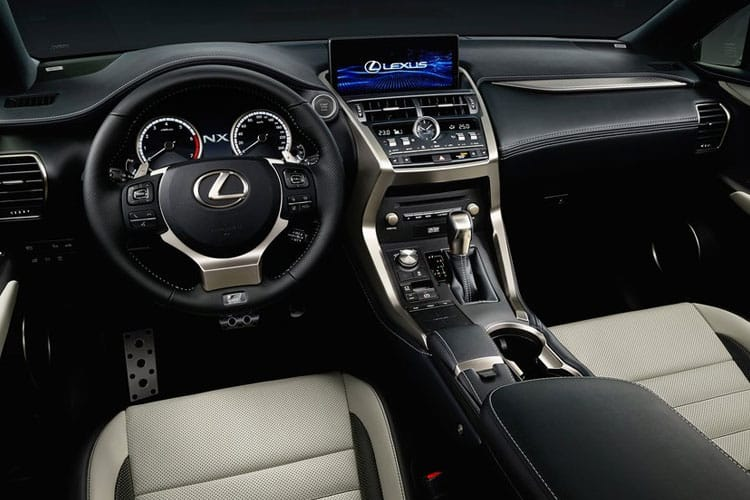 Lexus NX 300h SUV 4wd 2.5 h 197PS NX Premium Sport Edition 5Dr E-CVT [Start Stop] [Pan Roof] inside view