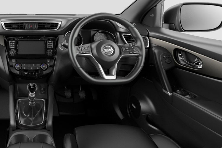 Nissan Qashqai SUV 2wd 1.3 DIG-T 140PS Tekna 5Dr Manual [Start Stop] inside view
