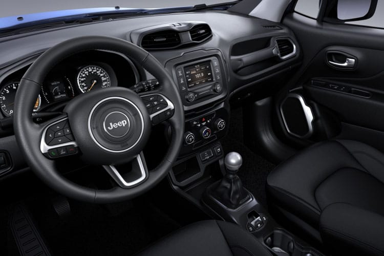 Jeep Renegade SUV 1.3 GSE T4 150PS S 5Dr DDCT [Start Stop] inside view