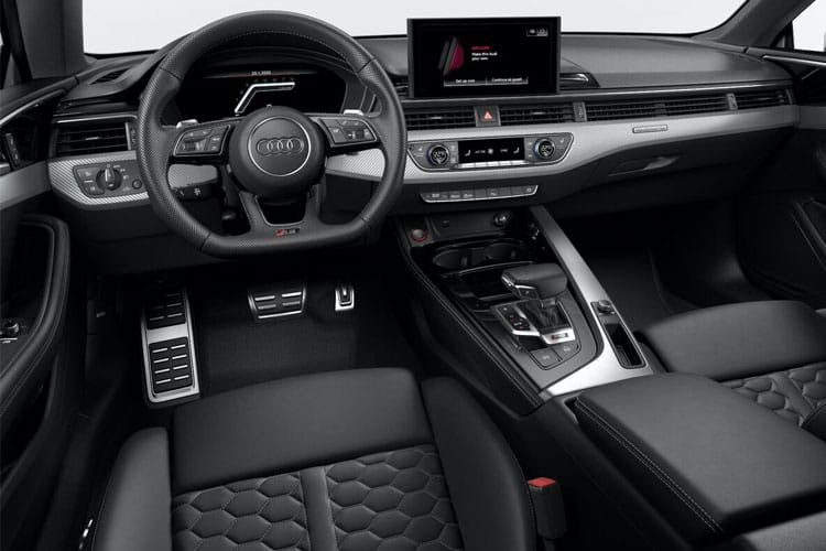 Audi A5 40 Sportback 5Dr 2.0 TFSI 190PS Black Edition 5Dr Manual [Start Stop] inside view