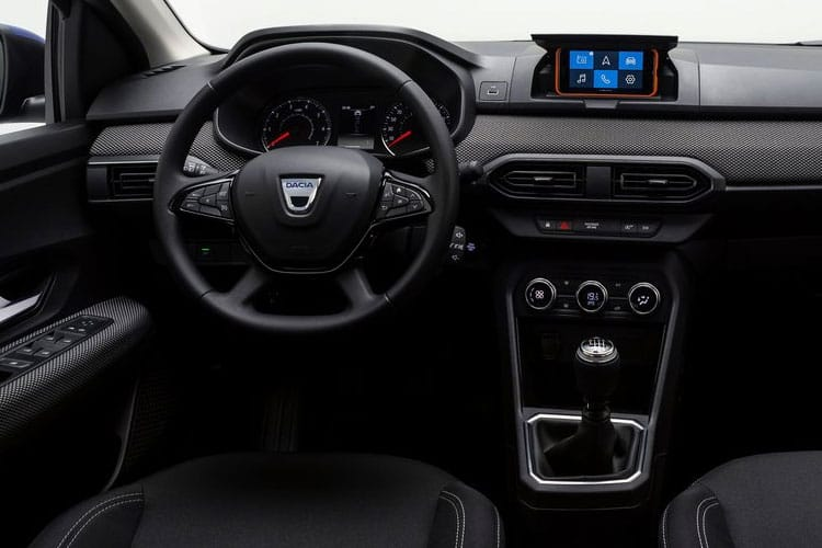 Dacia Sandero Hatch 5Dr 1.0 SCe 65PS Access 5Dr Manual inside view