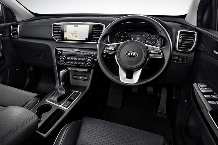 Kia Sportage SUV 2wd 1.6 CRDi MHEV 134PS 3 5Dr Manual [Start Stop] inside view