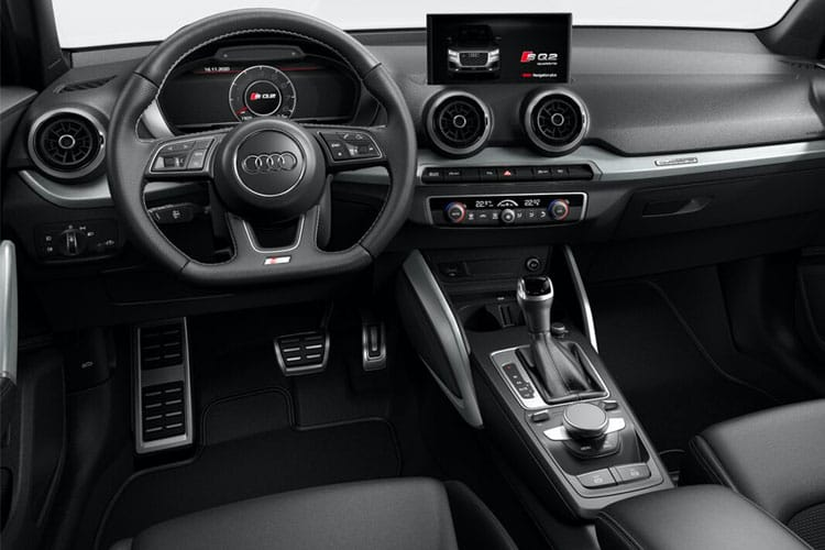 Audi Q2 30 SUV 5Dr 1.0 TFSI 116PS S line 5Dr Manual [Start Stop] inside view