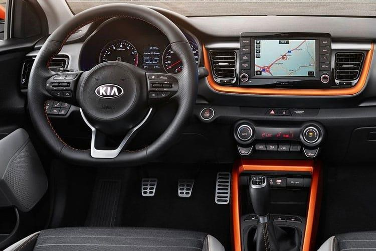 Kia Stonic SUV 5Dr 1.0 T-GDi MHEV 118PS Connect 5Dr DCT [Start Stop] inside view