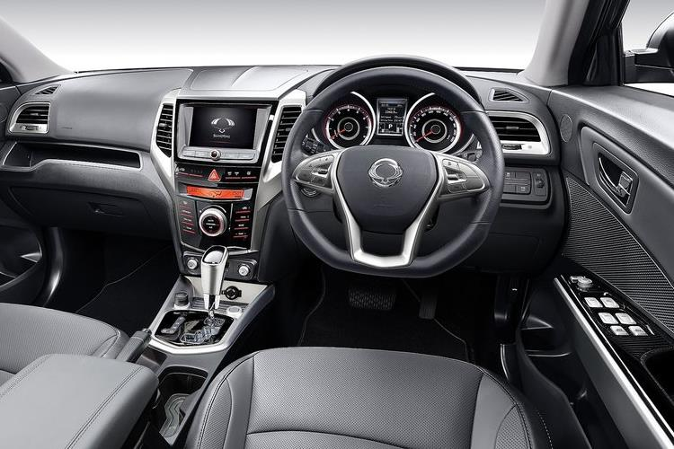 Ssangyong Tivoli SUV 5Dr 1.5 P 163PS Ultimate 5Dr Manual [Start Stop] inside view