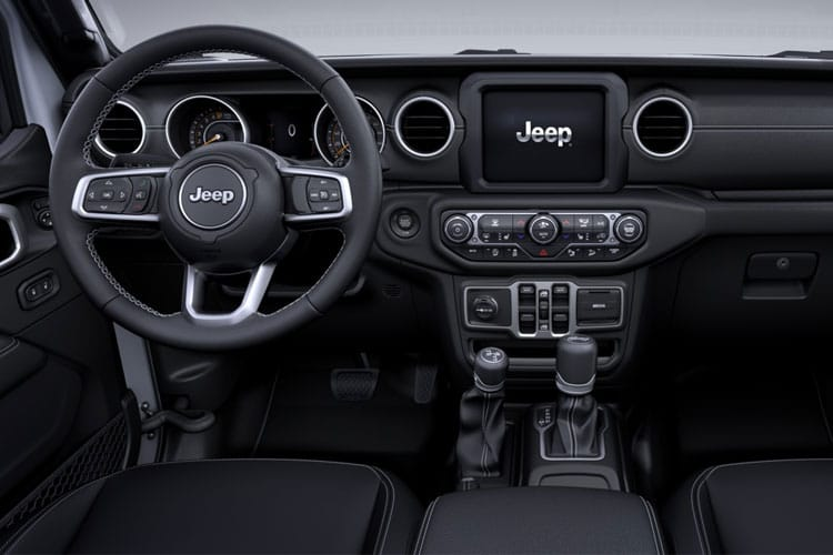 Jeep Wrangler SUV 4Dr 2.2 MultiJetII 200PS Overland 4Dr Auto [Start Stop] inside view