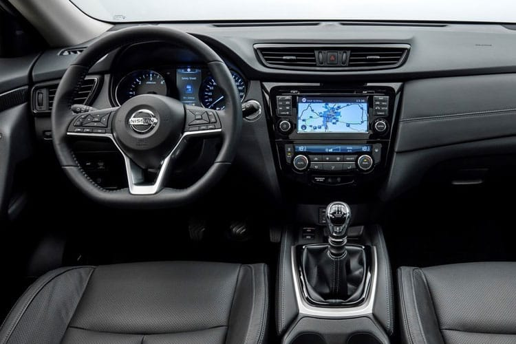 Nissan X-Trail SUV FWD 1.3 DIG-T 158PS N-Connecta 5Dr DCT Auto [Start Stop] [5Seat] inside view